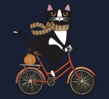 Cat on a Bicycle  Kids Clothes