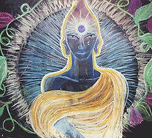 Chalk Meditation #2 • March 2004 by Robyn Scafone