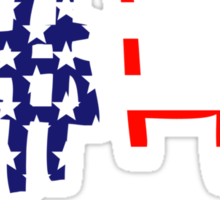 ASAP Stars And Stripes | A$AP Stickers Sticker
