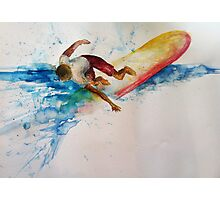 surfing safari Photographic Print