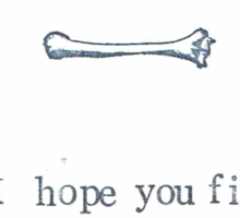 I Hope You Find This Humerus Sticker