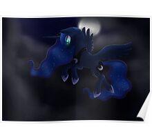My little Pony: Friendship is Magic - Princess Luna - Night Flight Poster