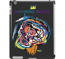 Jean Michel Basquiat Head Version 2 iPad Case/Skin