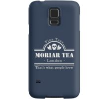 MoriarTea: What People Brew (white) Samsung Galaxy Case/Skin