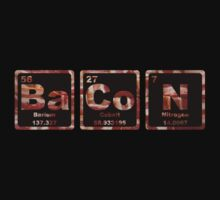Bacon - Periodic Table - Photograph by graphix