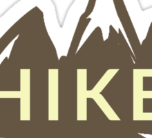 Hike Sticker
