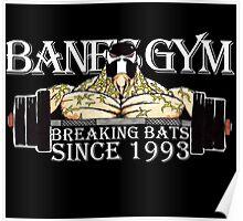 BANE'S GYM Poster