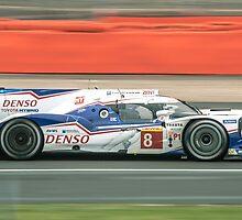 Toyota WEC Hibrid racing car by gregtoth85