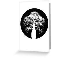 Bottle Tree Greeting Card