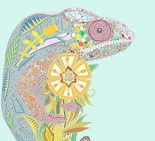 chameleon pastel by Sharon Turner