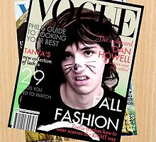 Dan Howell Vogue Cover by Dominique Demetz