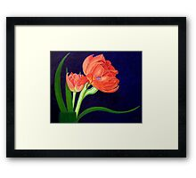 Attention, I am here! Framed Print