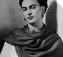 Frida Kahlo by joAnn lense