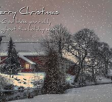 Christmas On The Farm by Charles & Patricia   Harkins ~ Picture Oregon