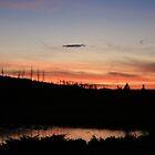 Yellowstone Sunset by Allen Gaydos