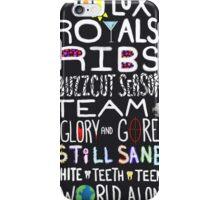 Lorde Songs iPhone Case/Skin