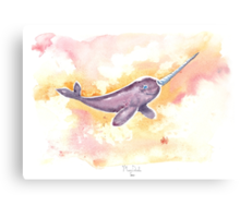 Flight of the Narwhal  Metal Print