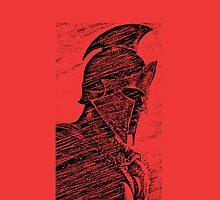 Spartan soldier, 300,  by NerdGirlTees