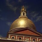 State House Dome by John Schneider