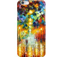 FAREWELL TO ANGER - Leonid Afremov iPhone Case/Skin