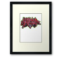 Graffiti Tees 12 Framed Print