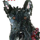 Scottie Dog 'Happy New Year' by archyscottie