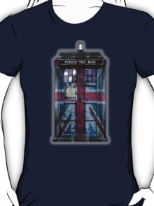 British Union Jack Space And Time traveller T-Shirt