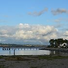 Dusk at Crescent Beach, White Rock, BC, Canada. Landscape photography. by naturematters