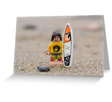 No Surf Today  Greeting Card