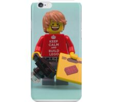 Keep Calm And Build Lego  iPhone Case/Skin