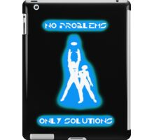 Tron, There's No Problems, Only Solutions iPad Case/Skin