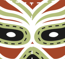 Vintage Lucha Libre Mask 03 Sticker