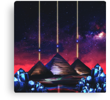 Giza-Orion Alignment  Canvas Print