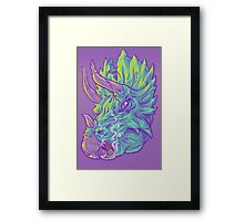 Tri and the Stogie Framed Print