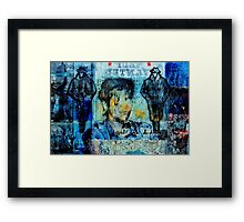 THE GATEKEEPERS Framed Print