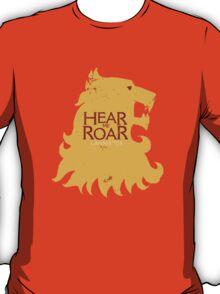 Hear me Roar/Lannister sigil T-Shirt