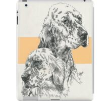 English Setter Father & Son iPad Case/Skin
