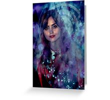 Clara Oswald Greeting Card