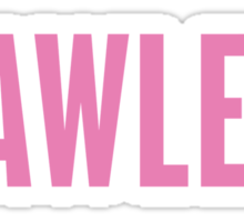 Flawless, Pink Ink | Beyonce Quote Sticker