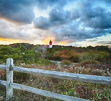 Nauset Light by Kate Hannon