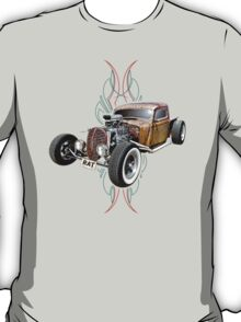 Pinstripe RAT - Full Throttle-a T-Shirt