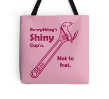Not to Fret Tote Bag