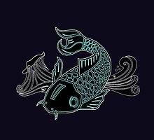 X-Ray Koi by Stacey Roman
