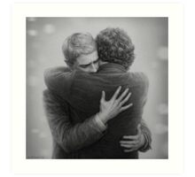 John and Sherlock Art Print
