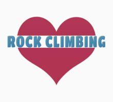 Love Rock Climbing by SportsT-Shirts