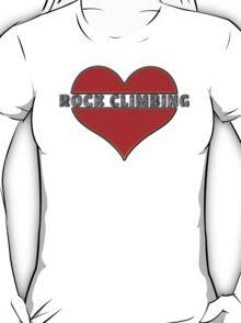Love Rock Climbing T-Shirt