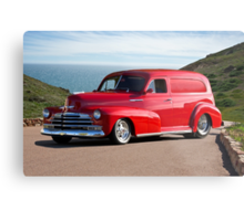 1947 Chevrolet 'Passion Pit' Panel Metal Print