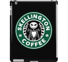 Skellington Coffee iPad Case/Skin