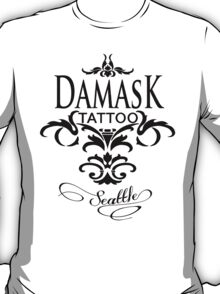 Damask Tattoo Seattle T-Shirt