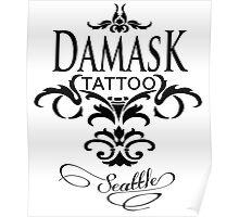 Damask Tattoo Seattle Poster